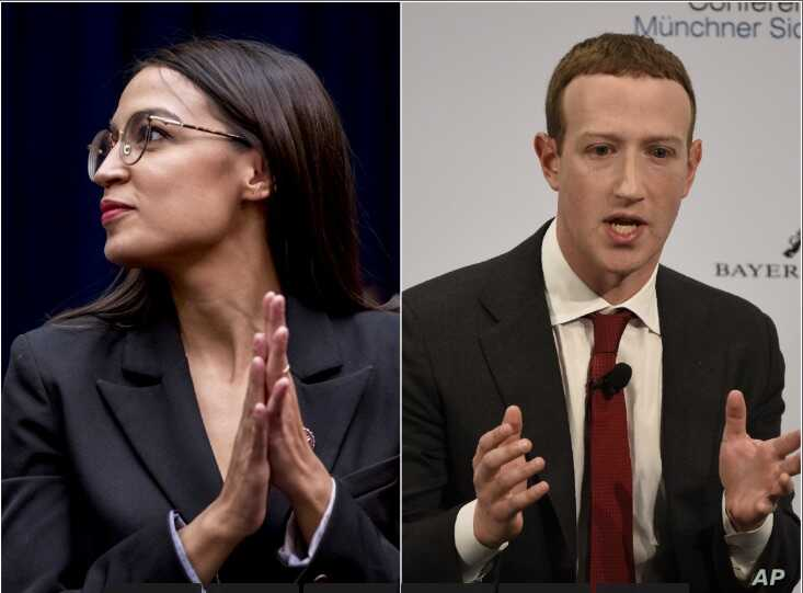 "Thirty-year-old Rep. Alexandria Ocasio-Cortez (D-NY), and Facebook founder Mark Zuckerberg, 35, are among the millennial generation's high-achieving ""mega""-llennials."