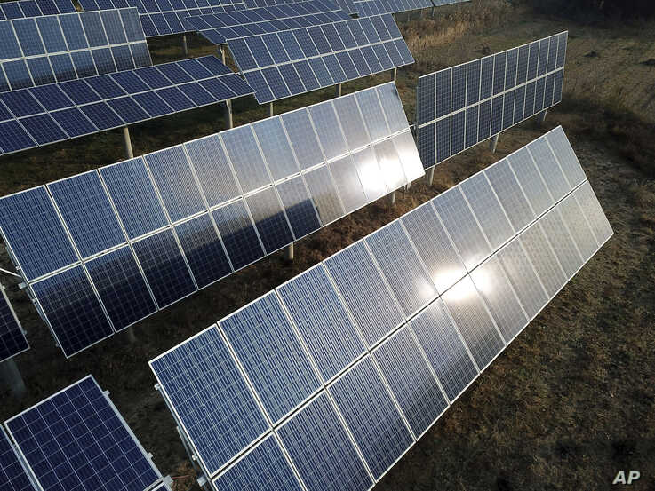 Canada-based SkyPower Global says it is still committed to build 1,000 MW of solar energy generation capacity in Uzbekistan. (AP)