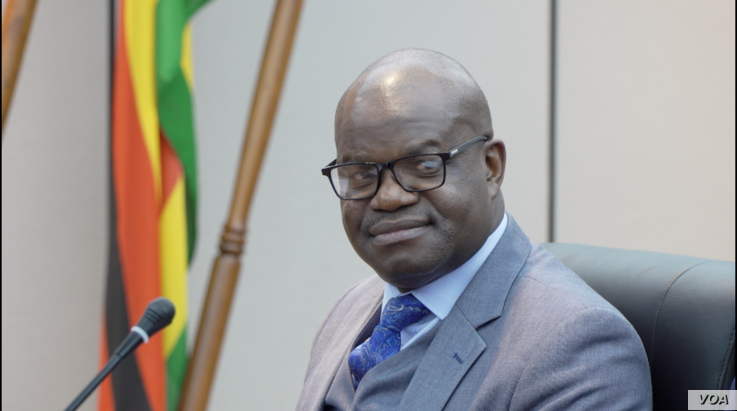 "On March 9, 2020,  Ministry of Information Secretary Nick Mangwana released a statement saying ... ""To this government, every Zimbabwean counts."" (Columbus Mavhunga/VOA)"