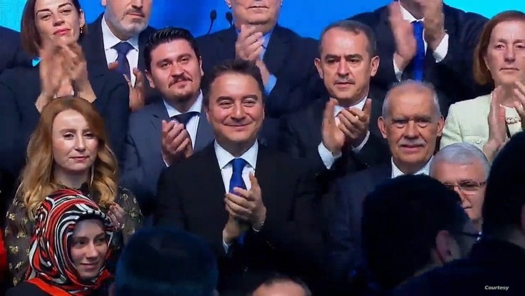 Ali Babacan once close ally of Turkish President Recep Tayyip Erdogan launches Deva Party, promising a new Turkey of greater freedoms and rights. Courtesy Deva Party