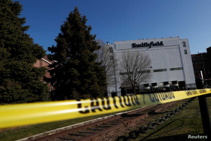 Smithfield Foods pork plant, the world's biggest pork processor, sits closed indefinitely due to a rash of coronavirus cases…