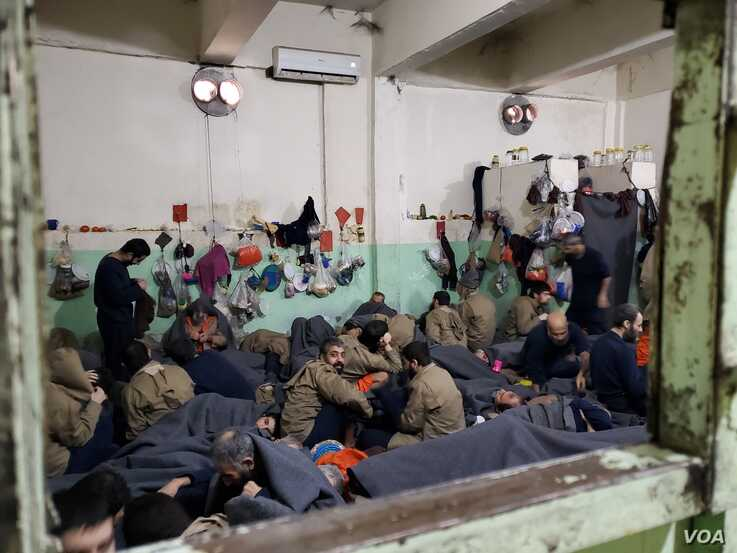Prisoners from 50 countries are still held in Syria, despite local authorities' repeated calls for the international community to repatriate their nationals, Feb. 16, 2020 in Hasseka, Syria. (Heather Murdock/VOA)