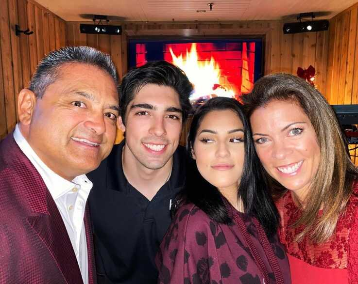 All four members of the Carlos Gavidia family suffered symptoms of COVID-19. Carlos was rushed to the hospital, where he tested