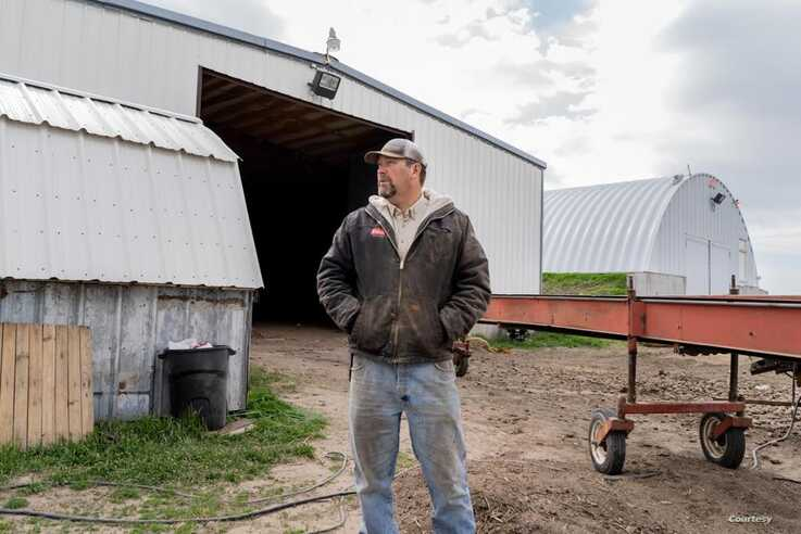 Doug Hess, a fourth-generation potato farmer in Idaho, recently worked with FarmLink to get his crop to people who need it. (Photo courtesy of FarmLink)