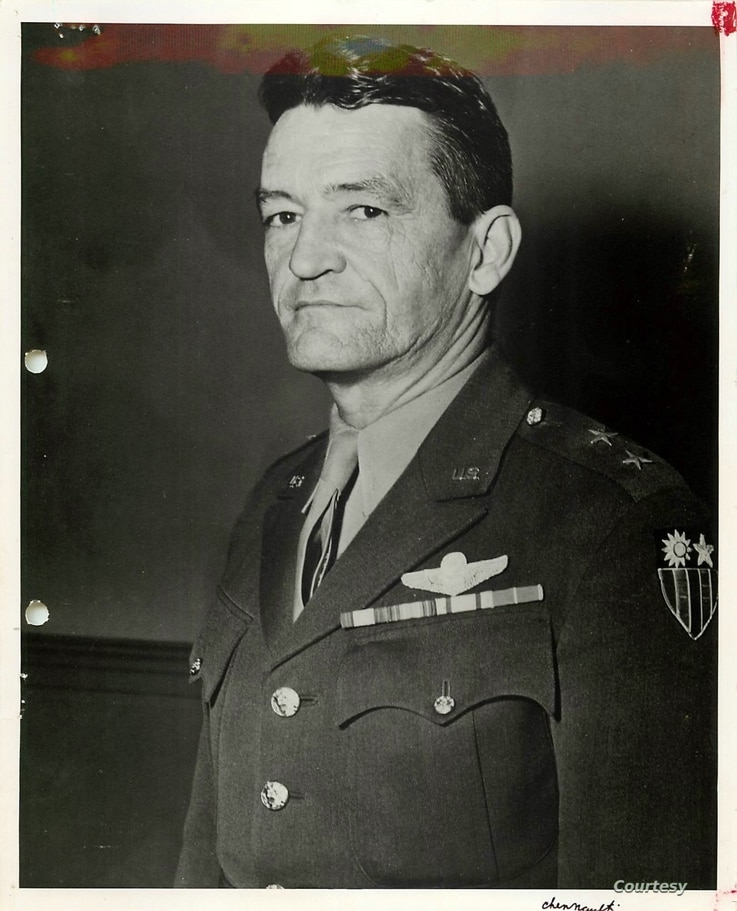 General Claire Lee Chennault (1890-1958), who commanded the legendary Flying Tigers and later the 14th Air Force in China, landed on the covers of TIME and LIFE magazines during WWII. (U.S. Air Force)