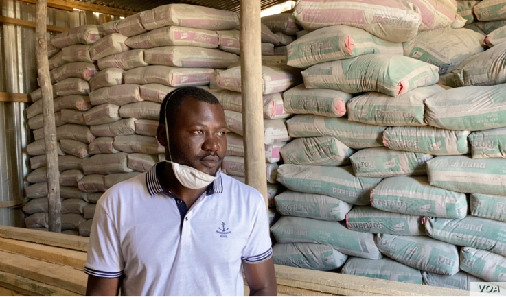 One of those feeling the lockdown pinch is 28-year-old Trevor River (May 16, 2020) who sells building materials in one of Harare