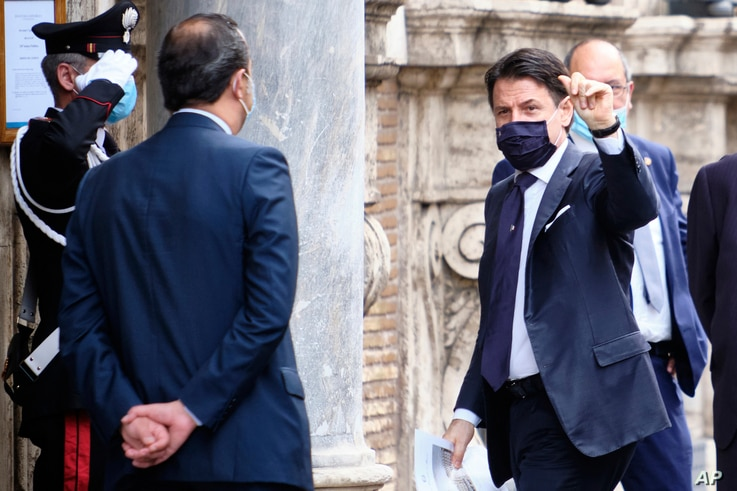 In Italy, 'A Fantastic Feeling' as Signs of Normalcy Return