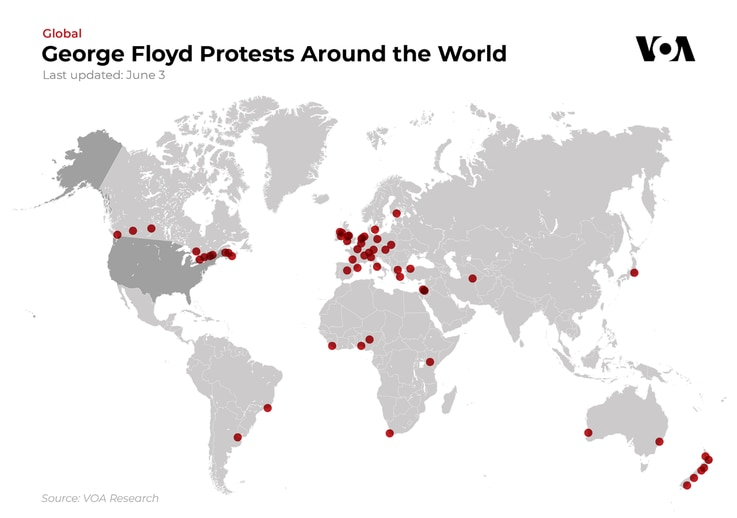 George Floyd Protests Around the World