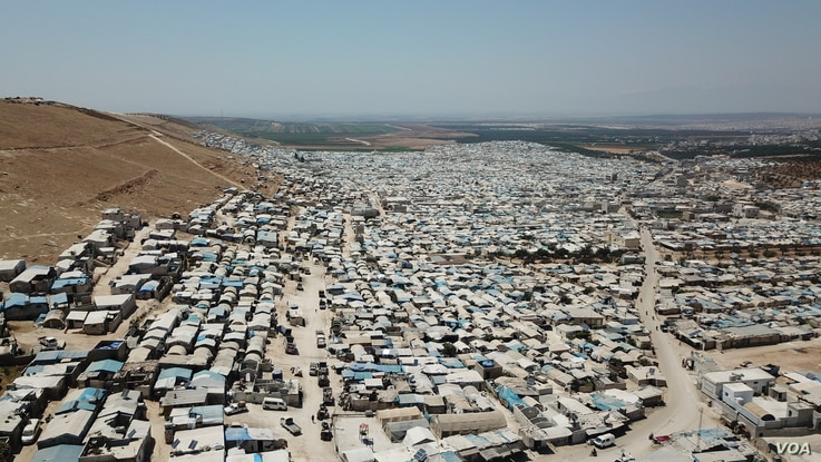 Millions of people are displaced in Idlib, Northwestern Syria, July 24, 2020.