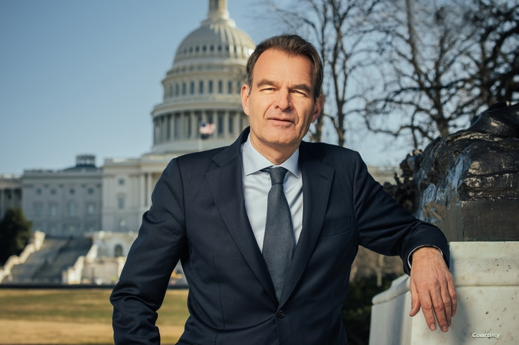 Andre Haspels, Netherlands ambassador to the United States since August 2019.   Courtesy: Embassy of the Netherlands in