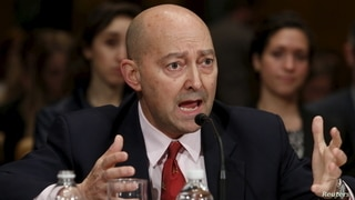 Retired Navy Adm. James Stavridis, former NATO Supreme Allied Commander, testifies before a Senate Appropriations State,…