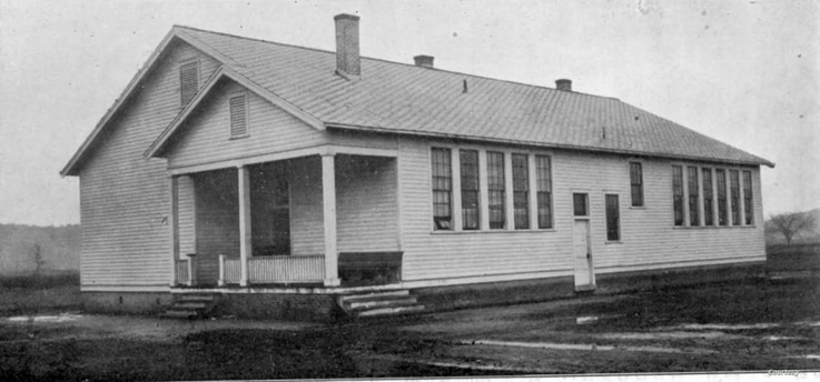The Rosenwald Practice School circa 1925 (Courtesy Elizabeth City State University Archives)