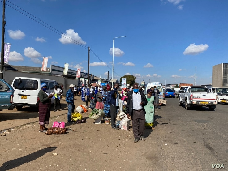Vendors defied reintroduced stringent measures and went about their business in Harare