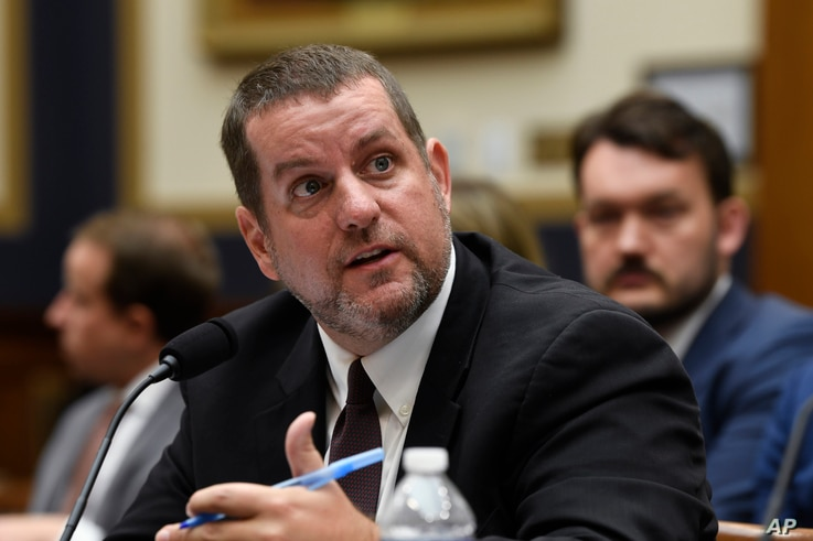Senior Cybersecurity Advisor at the Department of Homeland Security Matthew Masterson testifies before the House Judiciary…