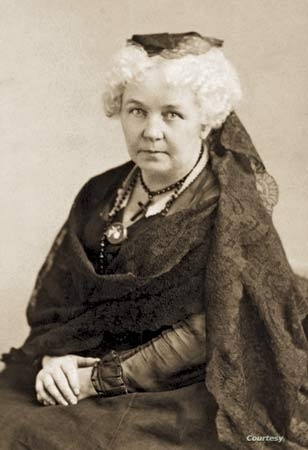 At the first women's rights convention, Elizabeth Cady Stanton was the principle author of the Declaration of Sentiments, a document that called for equality with men, including the right to vote.