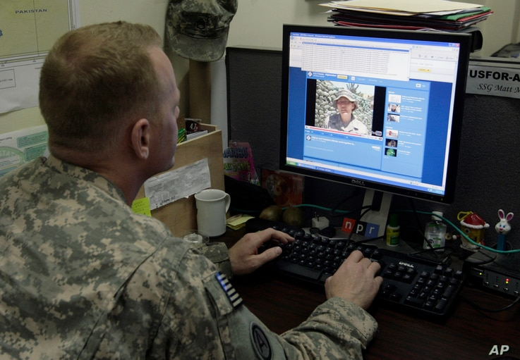 Army Staff Sgt. Matthew Millham, 31, from New Paltz, N.Y., a former reporter for the military newspaper Stars and Stripes,…