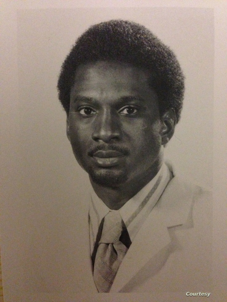 Dr. David Satcher during his college years. (Photo courtesy of Satcher family)