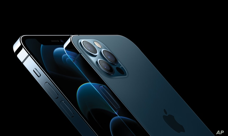 iPhone 12 Pro and iPhone 12 Pro Max feature a new, elevated flat-edge stainless steel design and Ceramic Shield front cover for increased durability.