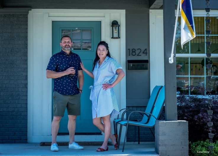 Stephanie Robesky found a new life -- and love, Chris Bouldin -- since moving to Tulsa, Oklahoma in 2019, to participate in the Tulsa Remote program. (Courtesy Image: Stephanie Robesky)