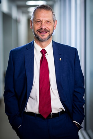 Dr. Boris Lushniak is a professor and dean of the School of Public Health at the University of Maryland, College Park. (Courtesy University of Maryland)