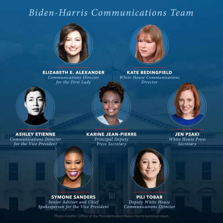 Biden-Harris Communications Team