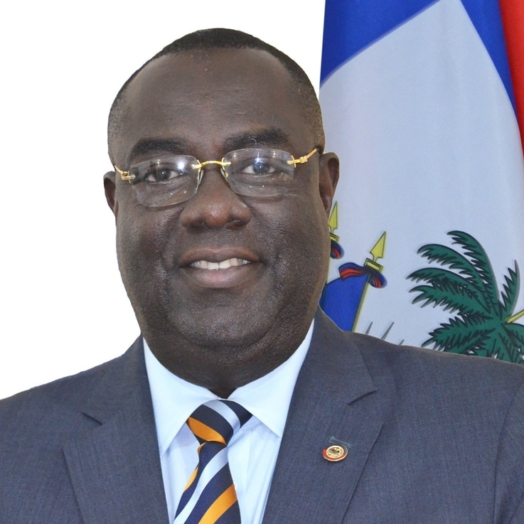 Haiti's ambassador to the United States, Bocchit Edmond