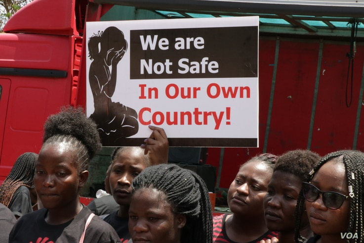 Women Doctors Assocation of Malawi held a demonstration againsts incresasinf cases of defilement and ssexual abuse