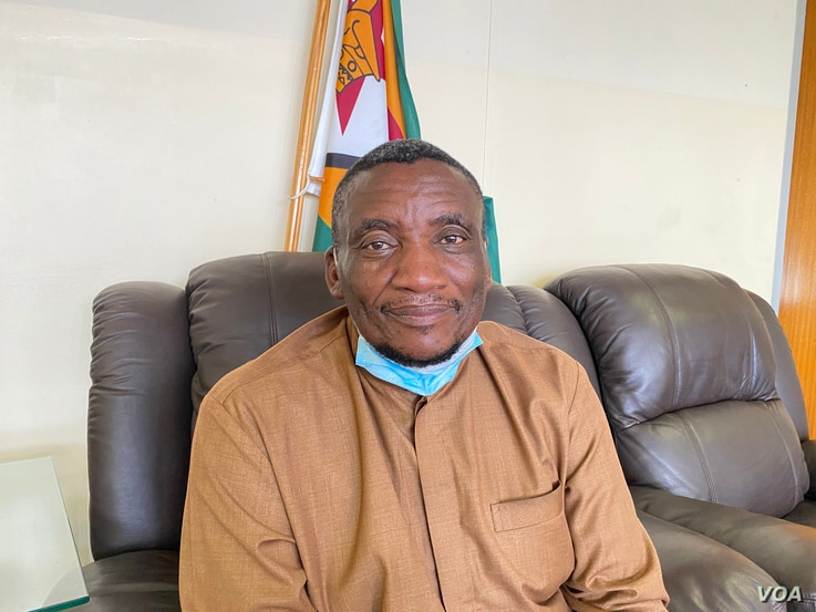 Nathan Nkomo, (December 07, 2020, Harare) director of the Zimbabwe's Department of Civil Protection, says there have been several incidents like the Ran Mine collapse and urgent action is needed. (Columbus Mavhunga/VOA)