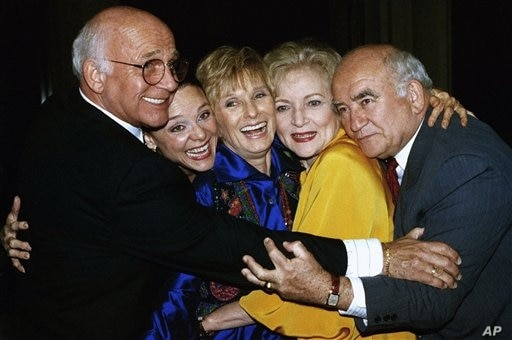 Former cast members of the Mary Tyler Moore Show, sans Mary Tyler Moore, are reunited for the Museum of Television and Radio's…