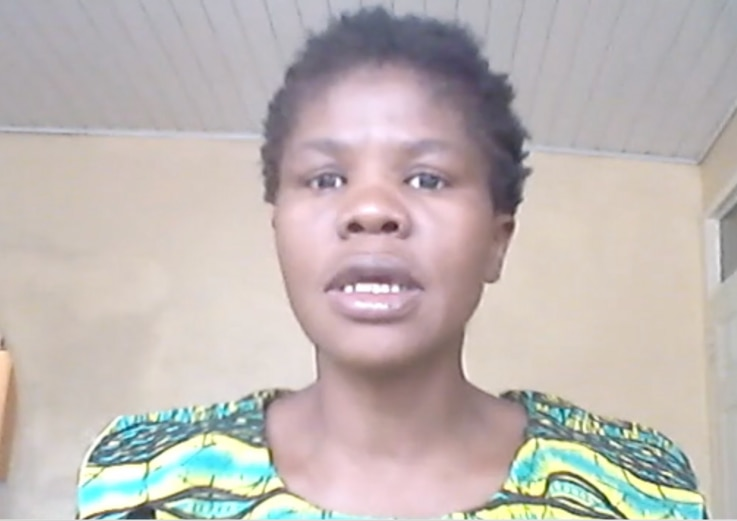 Hilda Mahumucha, from Women Lawyers of Southern Africa-Zimbabwe, says that since the Supreme Court ruling her organization is noticing more women becoming aware of their rights (VOA/Columbus Mavhunga)