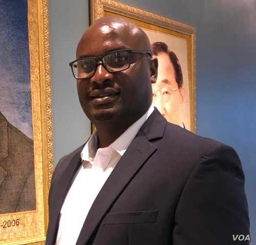 Tabani Moyo leader of the Media Institute of Southern Africa in Zimbabwe says this third arrest of journalist Hopewell Chin'ono is intended to intimidate citizens and journalists in Zimbabwe. (Photo: Columbus Mavhunga /VOA)