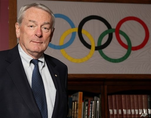 International Olympic Committee (IOC) member, Richard (Dick) Pound poses in the International Centre for Olympic Studies after …