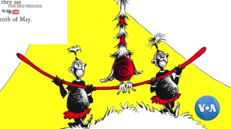 """A caricature of the inhabitants of an African island in """"If I Ran the Zoo,"""" one of the six books by Dr. Seuss that Dr. Seuss Enterprises has pulled from publication. (Punk Rock Preschool/YouTube)"""