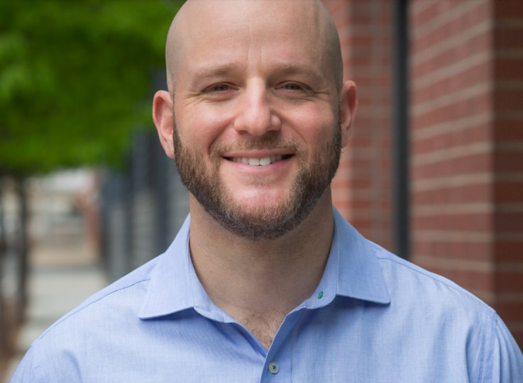 Alex Goldstein, creator of the Faces of COVID Twitter page. (Courtesy Alex Goldstein)