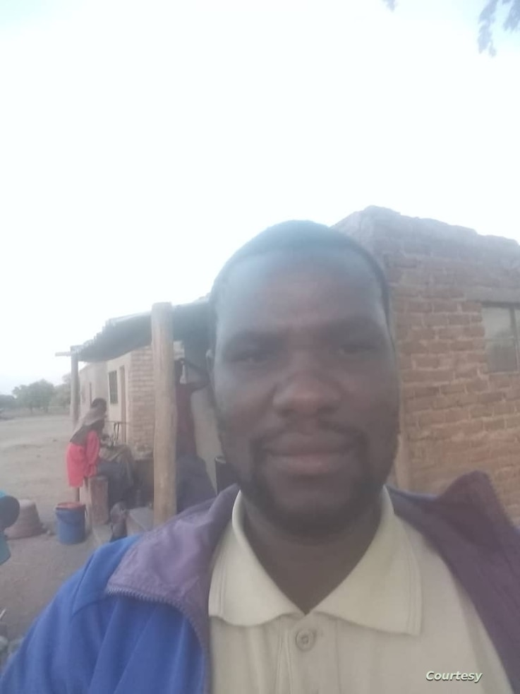 Livison Chikutu is one of 12,000 Shanganis set to be evicted, along with his wife and four children, he says an eviction would leave them homeless.