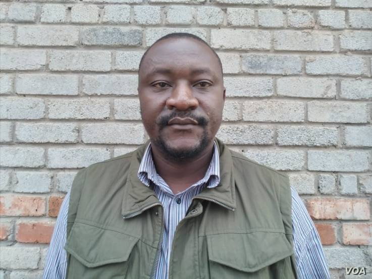 SamuelWadzaileader of the activist group Vendors Initiative Social and Economic Transformation in Zimbabwe welcomes, March 2, 2021, the government's decision to allow informal traders to resume operating.(Columbus Mavhunga/VOA)