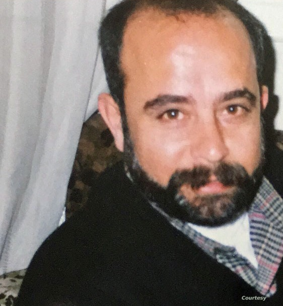 Ali Mustafa, pictured here, was taken by Syrian government security forces from his apartment in Damascus, Syria, July 2, 2013. (Photo courtesy: Sana Mustafa)