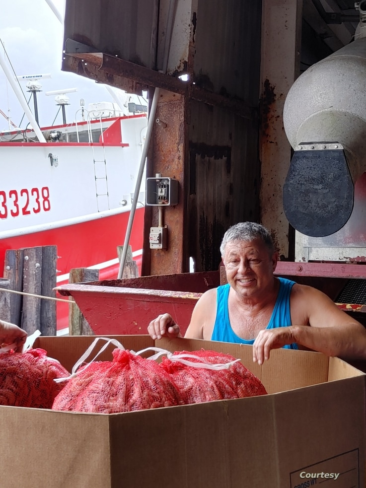 Blanchard Seafood owner Dean Blanchard says migrant workers are good for America's economy. (Photo courtesy Dean Blanchard)