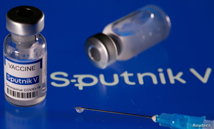 FILE PHOTO: File labelled 'Sputnik V coronavirus disease (COVID-19) vaccine', March 24, 2021. REUTERS / Dado Ruvic/File Photo