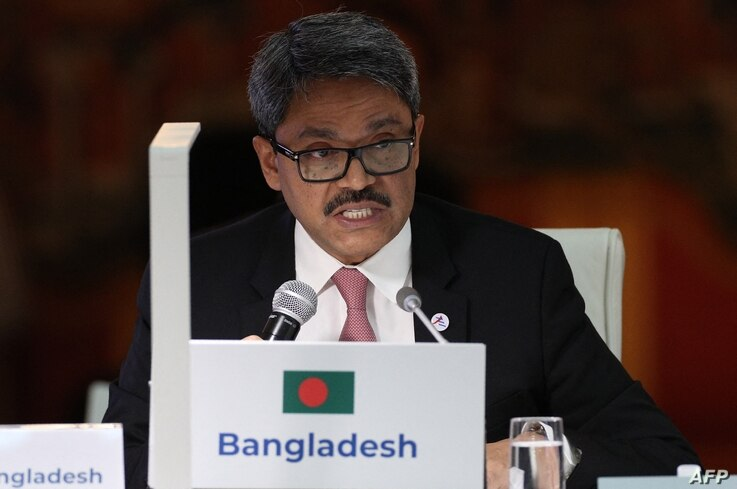 Bangladesh's deputy minister of foreign affairs Shahriar Alam the 14th ASEM Foreign Ministers' Meeting at the Royal Palace of…