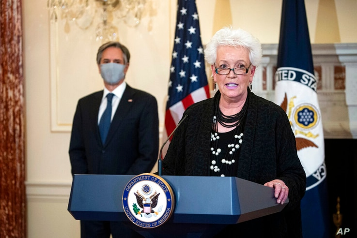 Gayle Smith, the new State Department Coordinator for Global COVID-19 Response and Health Security, speaks about U.S…