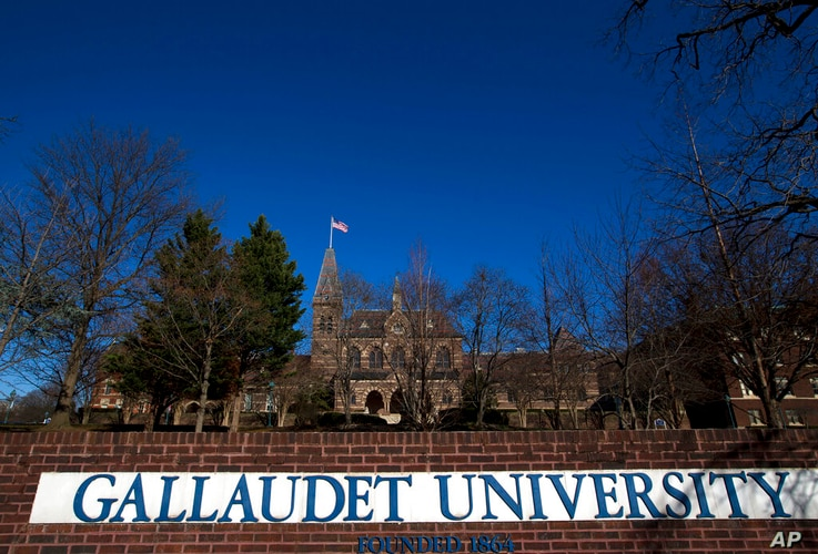 Gallaudet University in Washington, Wednesday, Dec. 11, 2019.   Driven by different spiritual traditions, students and faculty…