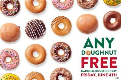 Krispy Kreme said anyone can get a free doughnut, vaccinated or not, on Friday to celebrate National Doughnut Day. But people who have been vaccinated will get an additional doughnut.