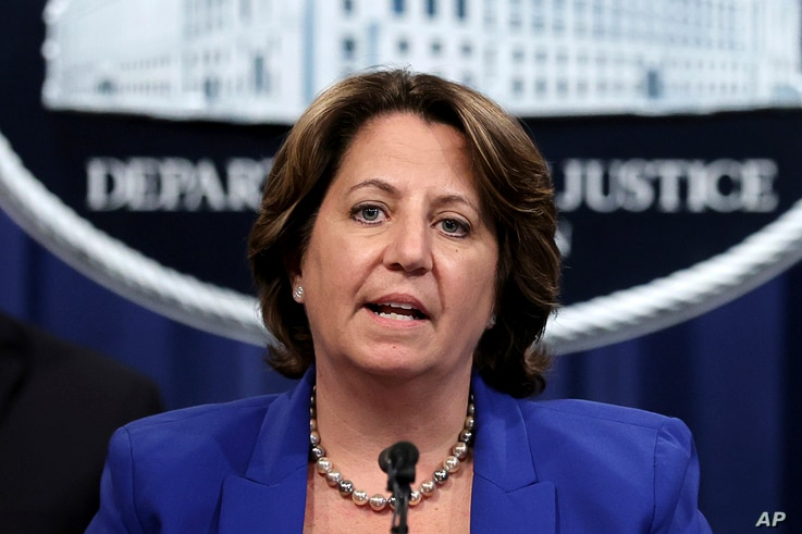 Deputy Attorney General Lisa Monaco announces the recovery of millions of dollars worth of cryptocurrency from the Colonial...