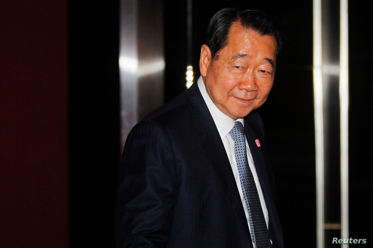 Dhanin Chearavanont, chairman of Thailand's largest agribusiness group, Charoen Pokphand Food, arrives at a Thailand-China…