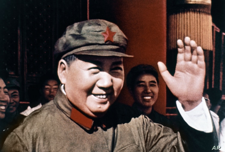 Chinese Communist Party leader Mao Zedong smiles and waves in 1969. Since seizing power amid civil war in 1949, the party has…