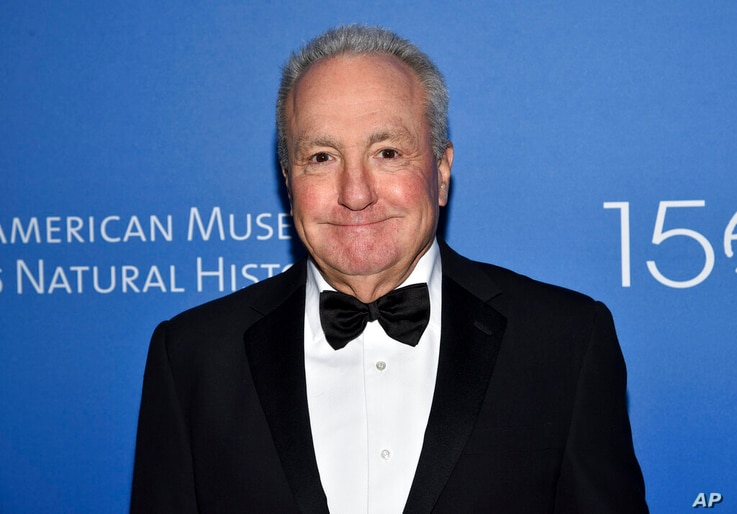 FILE - In this Nov. 21, 2019, file photo Producer Lorne Michaels attends the American Museum of Natural History's 2019 Museum…