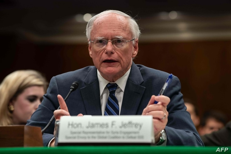 James Jeffrey, State Department special representative for Syria engagement and special envoy to the Global Coalition to Defeat…