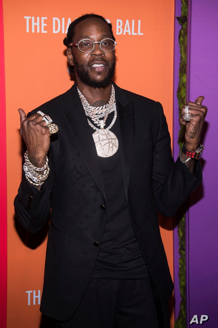 2 Chainz attends the 5th annual Diamond Ball benefit gala at Cipriani Wall Street on Thursday, Sept. 12, 2019, in New York. (Photo by Charles Sykes/Invision/AP)
