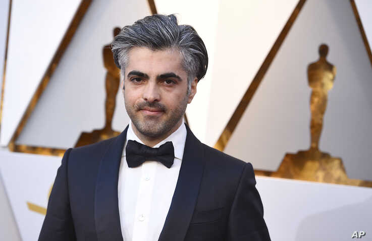 Feras Fayyad arrives at the Oscars on Sunday, March 4, 2018, at the Dolby Theatre in Los Angeles. (Photo by Jordan Strauss…